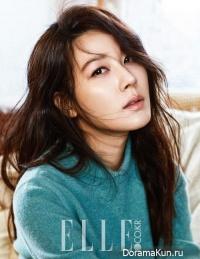 Kim Ha Neul для Elle January 2016 Extra