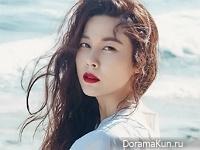 Kim Ha Neul для InStyle July 2016