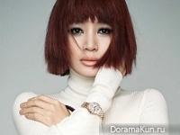 Kim Hye Soo для J LOOK September 2016