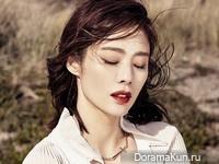 Kim Hyun Joo для Grazia April 2016