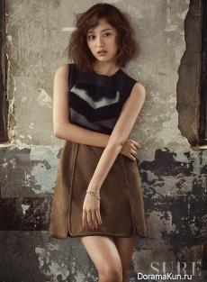 Kim Ji Won для SURE July 2016