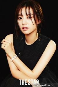 Kim Ji Won для The Star April 2016