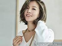 Kim Sung Eun для Woman Sense April 2016