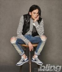 Kim Won Joong для The Bling February 2016