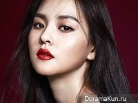 Kim Yoon Hye для Cosmopolitan February 2016