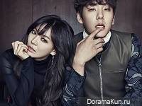 Kwak Si Yang, Kim So Yeon для Cosmopolitan January 2016