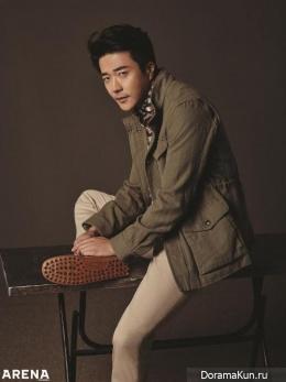 Kwon Sang Woo для Arena Homme Plus April 2016