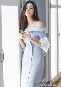 Kyung Soo Jin для InStyle July 2016