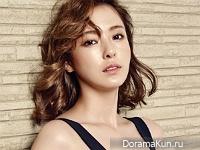 Lee Da Hee для InStyle June 2016