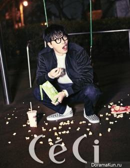 Lee Dong Hwi для CeCi January 2016