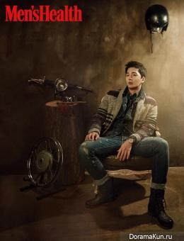 Lee Hyun Jin для Men's Health January 2016