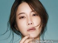 Lee Ji Ah для InStyle January 2016
