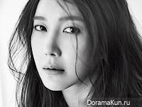 Lee Ji Ah для Vogue February 2016