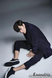 Lee Kwang Soo для Esquire January 2016