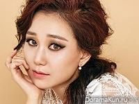Lee Yoo Young для Cosmopolitan January 2016