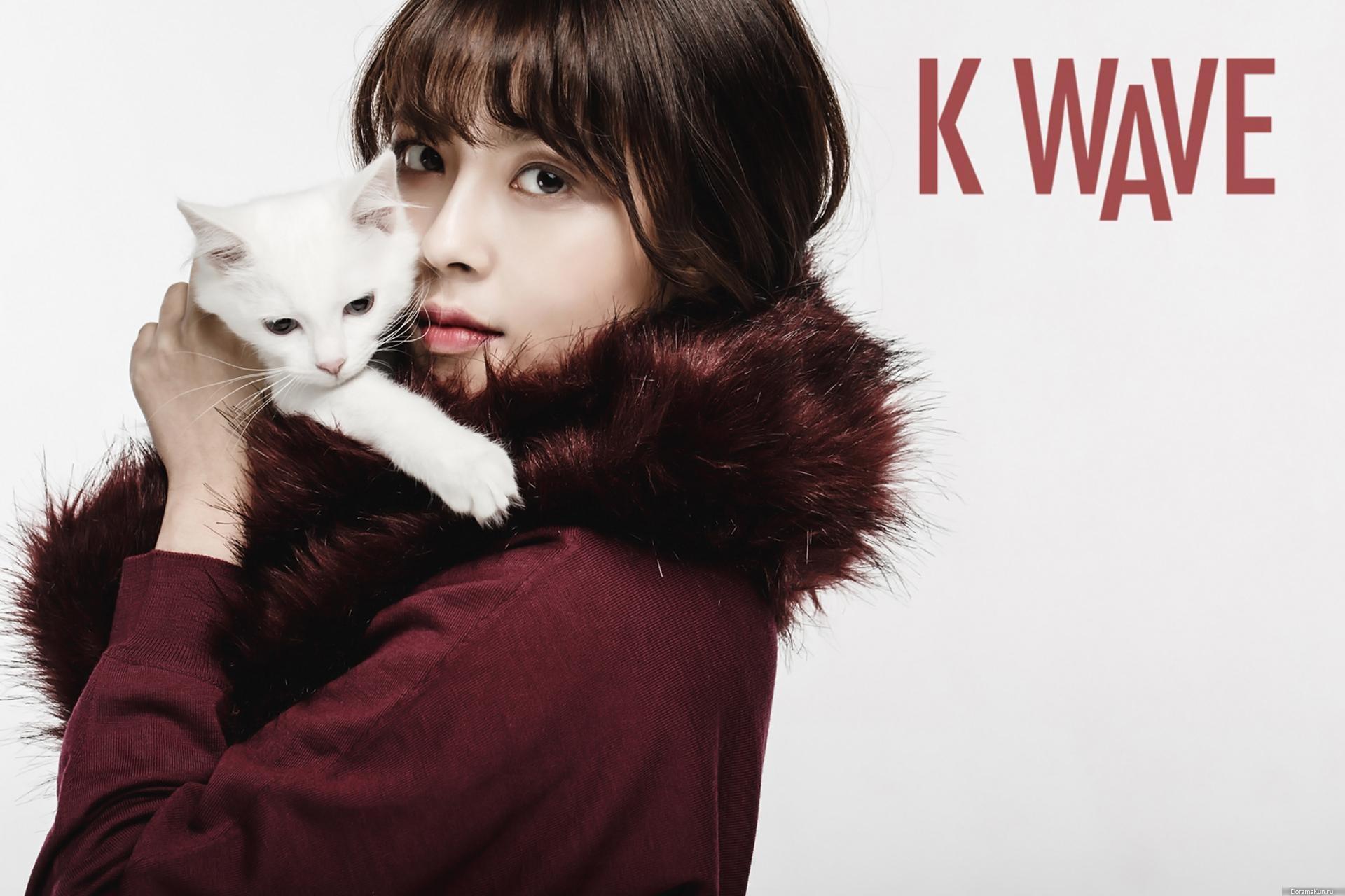 Min Do Hee для K Wave December 2015 Фотосессии