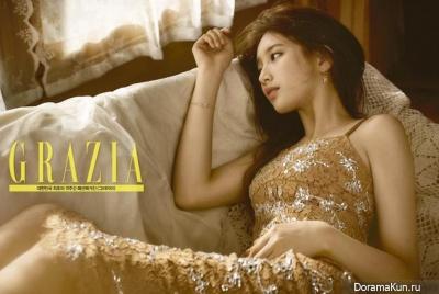 Miss A (Suzy) для Grazia August 2016