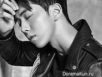 Nam Joo Hyuk для DAZED February 2016 Extra