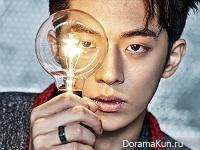 Nam Joo Hyuk для DAZED February 2016