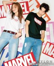 Lee Sung Kyung, Nam Joo Hyuk для Nylon April 2016