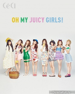 Oh My Girl для CeCi July 2016