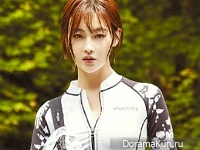 Oh Yeon Seo для Grazia June 2016