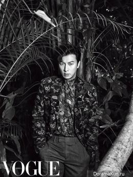 Park Gun Hyung для Vogue Korea January 2016