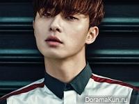 Park Seo Joon для InStyle January 2016