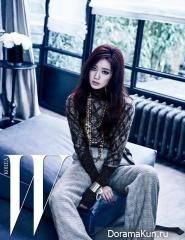Park Shin Hye для W Korea May 2016