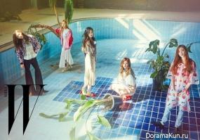 Red Velvet для W Korea March 2016