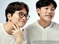 Lee Dong Hwi, Ryu Jun Yeol для Gillette 2016 CF