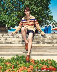 SHINee (Onew) для Cosmopolitan May 2016