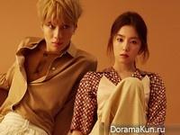 SHINee (Taemin), Red Velvet (Irene) для GQ April 2016
