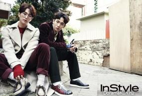 SHINee (Onew, Key) для InStyle November 2016