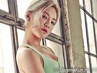 Hyoyeon (SNSD) для Cosmopolitan January 2016