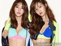 SNSD (Yuri), Vivian для Barrel 2016 CF
