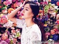 Seo Ji Hye для SURE March 2016 Extra