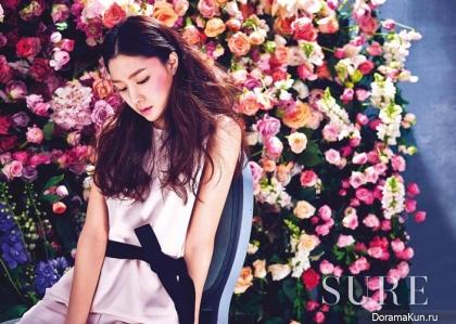 Seo Ji Hye для SURE March 2016