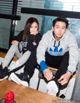 Hyomin (T-ARA), Seulong (2AM) для Adidas 2016 CF