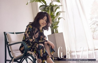 Shim Eun Kyung для Grazia March 2016