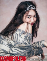 Shin Min Ah для Cosmopolitan March 2016