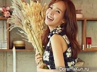 So Yoo Jin для InStyle October 2016