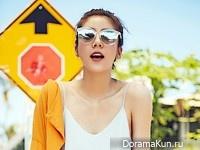 Son Dam Bi для The Traveller Magazine 2016