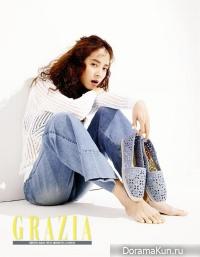 Song Ji Hyo для Grazia May 2016