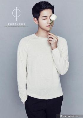 Song Joong Ki для FORENCOS 2016 CF