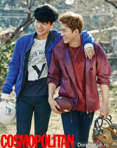 Yesung, Taemin, Key, Suho для Cosmopolitan Korea February 2016