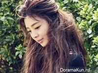 Uhm Hyun Kyung для InStyle May 2016