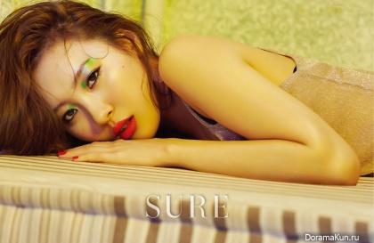 Wonder Girls (Sunmi) для SURE July 2016