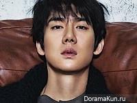 Yoo Yeon Seok для Cosmopolitan January 2016 Extra