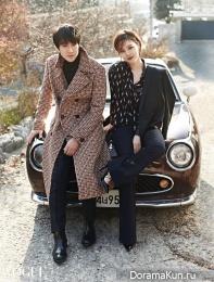 Yoo Yeon Seok, Moon Chae Won для Vogue January 2016